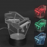 Đèn LED 3D Piano